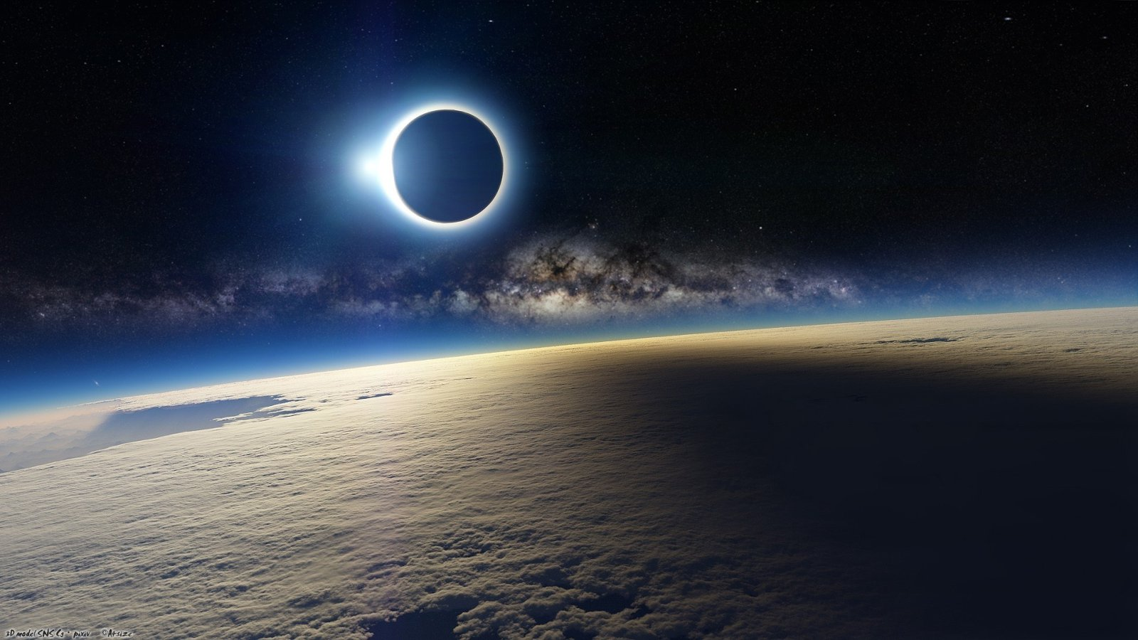 sun eclipse space